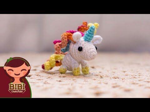 Amigurumi Como Hacer Un Unicornio En Crochet Bibi Crochet 2018