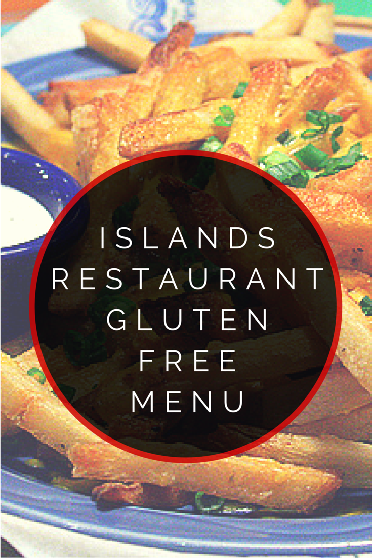 Islands Restaurant Gluten Free Menu Glutenfree