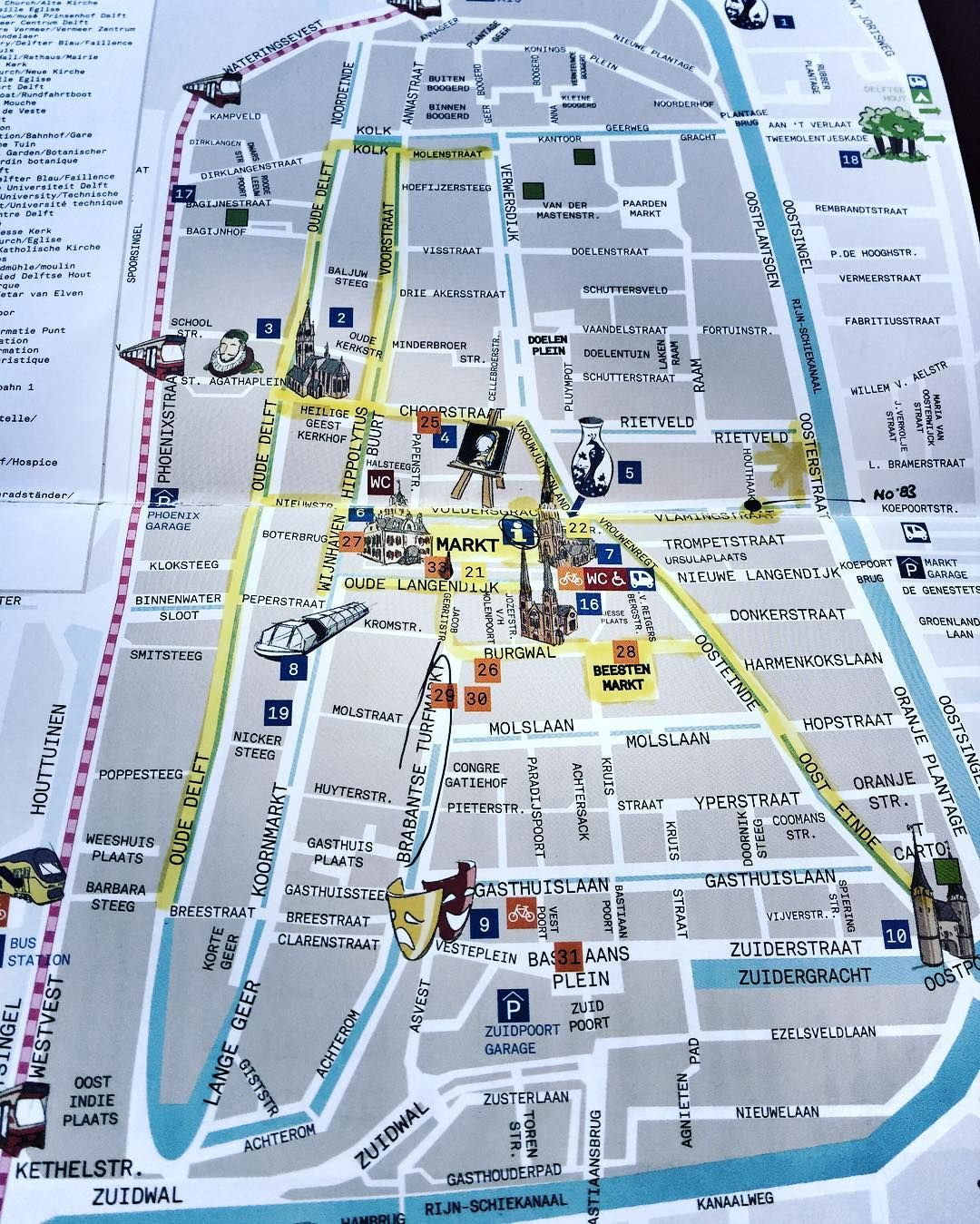 A handy map with a few pointers Thanks imsudge plotdesign delft