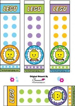 Lego printable Bookmarks