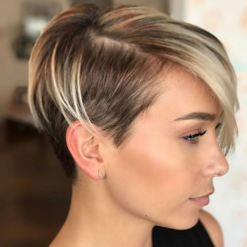 undercut short pixie frisuren f r damen 2018 2019 hair ideas pinterest short hair styles. Black Bedroom Furniture Sets. Home Design Ideas