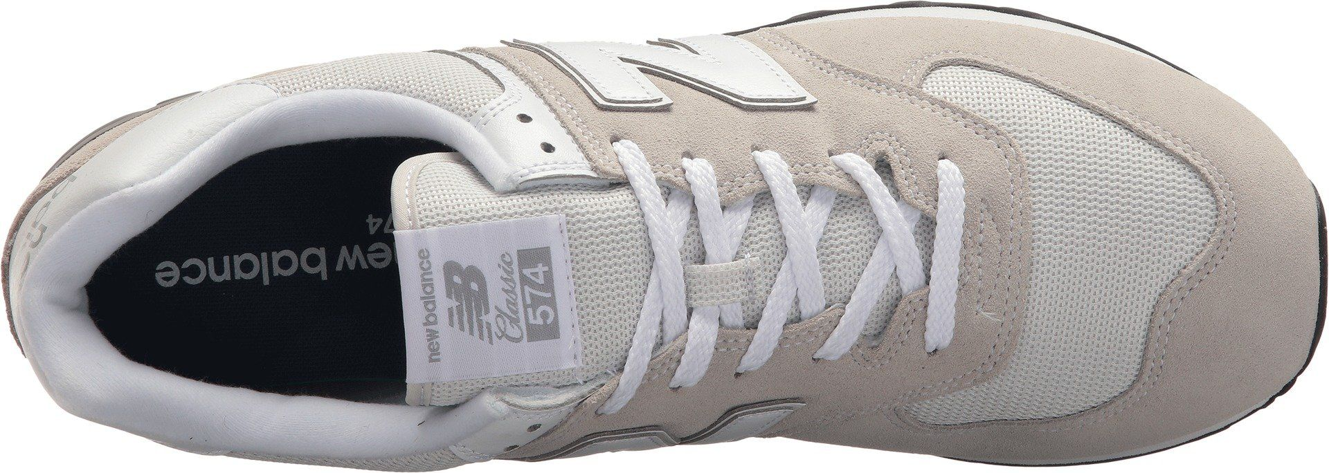 New Balance Mens 574v2 Evergreen Lifestyle Sneaker Nimbus Cloud 9 2E ...