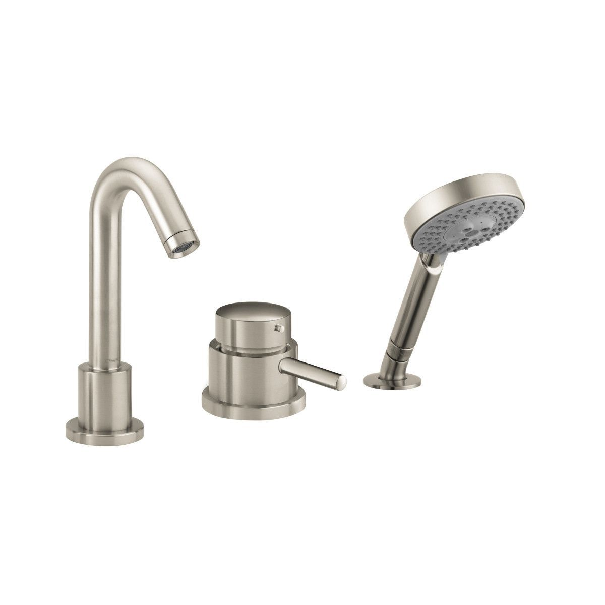 Hansgrohe 04127000 Chrome Talis S Tub Filler Faucet With Thermostatic /  Volume Controls, Non Diverter