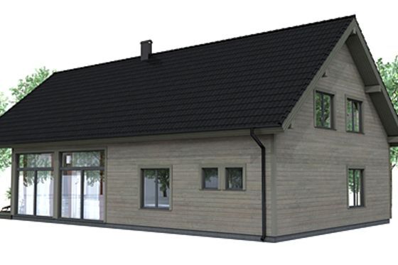 Modern Photo Plan #537-12 - Houseplans.com