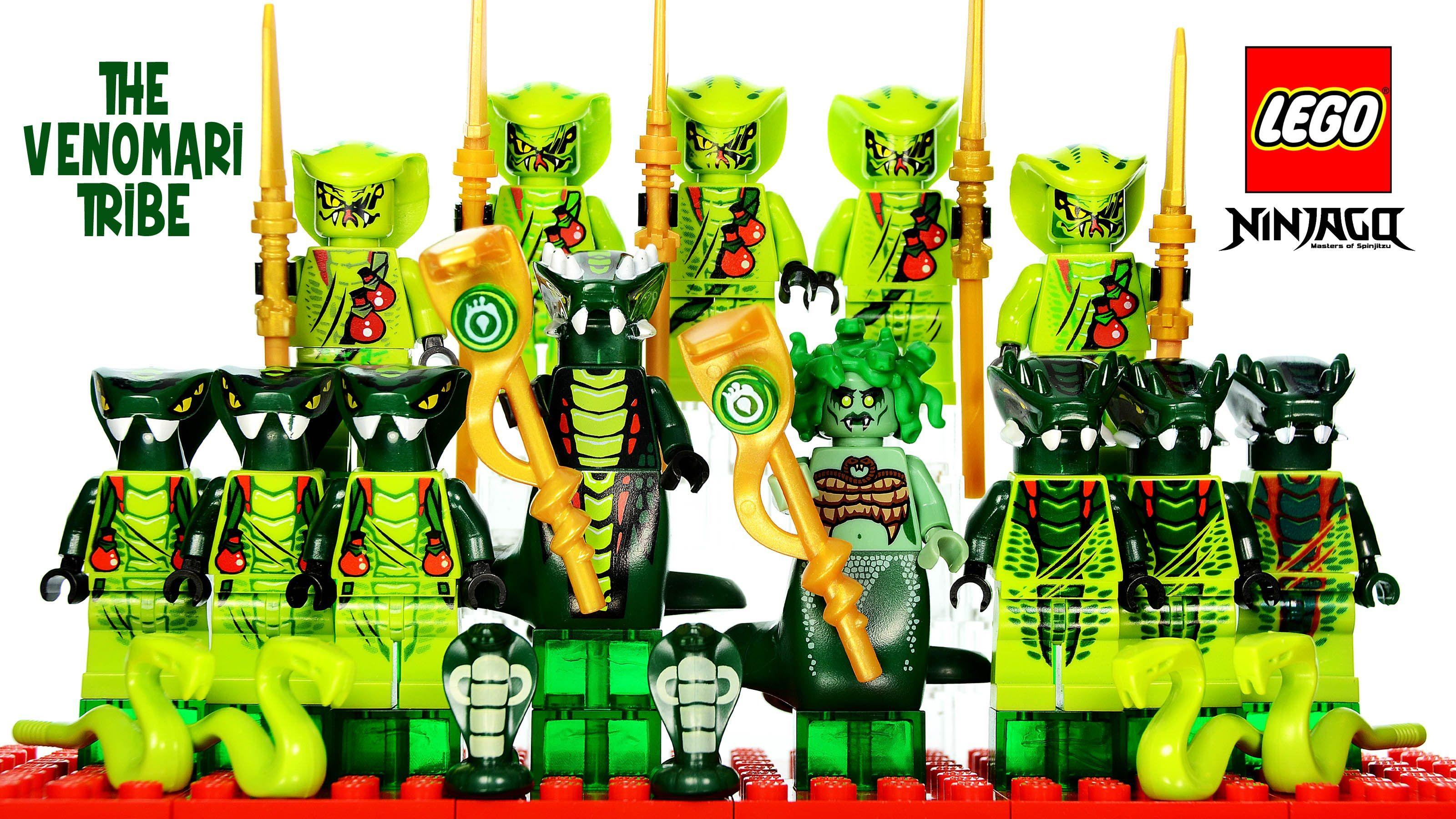 Lego Ninjago Rise Of The Snakes Venomari Tribe Serpentine Minifigure Collection Lego Ninjago Lego Cool Lego Creations