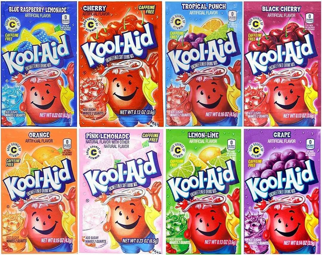 Pin By Kristi Huff On Are You Fb Bored In 2020 Kool Aid Flavor Variety Blue Raspberry Lemonade