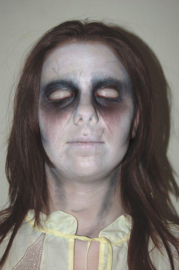Ghost Makeup by SAB687 on deviantART | HALLOWEEN! | Pinterest ...