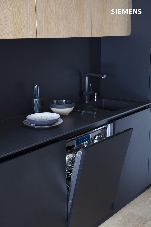 47+ Facade cuisine noir mat ideas