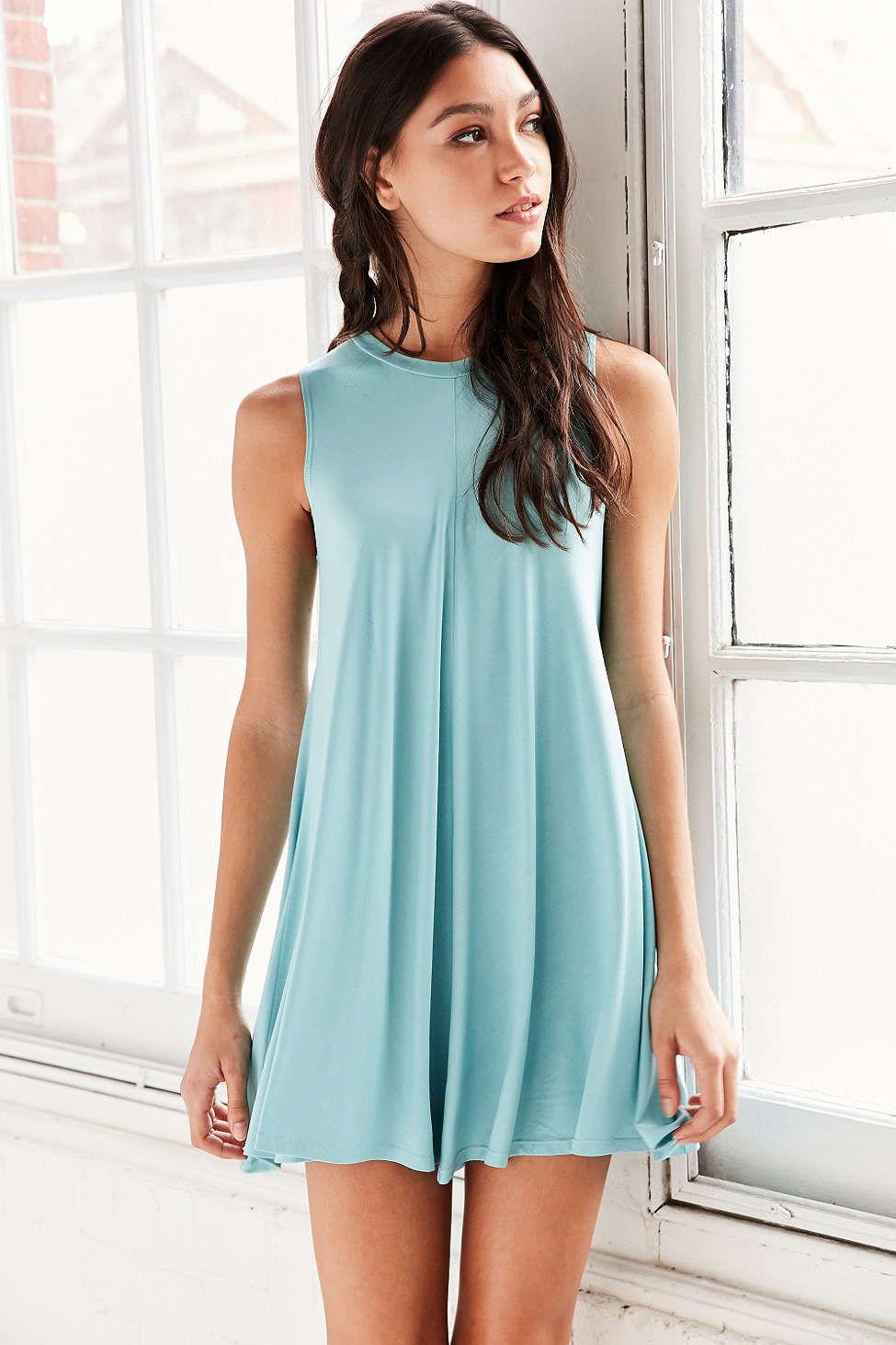 Silence + Noise Swingy Tank Dress | Tank dress, Urban outfitters ...