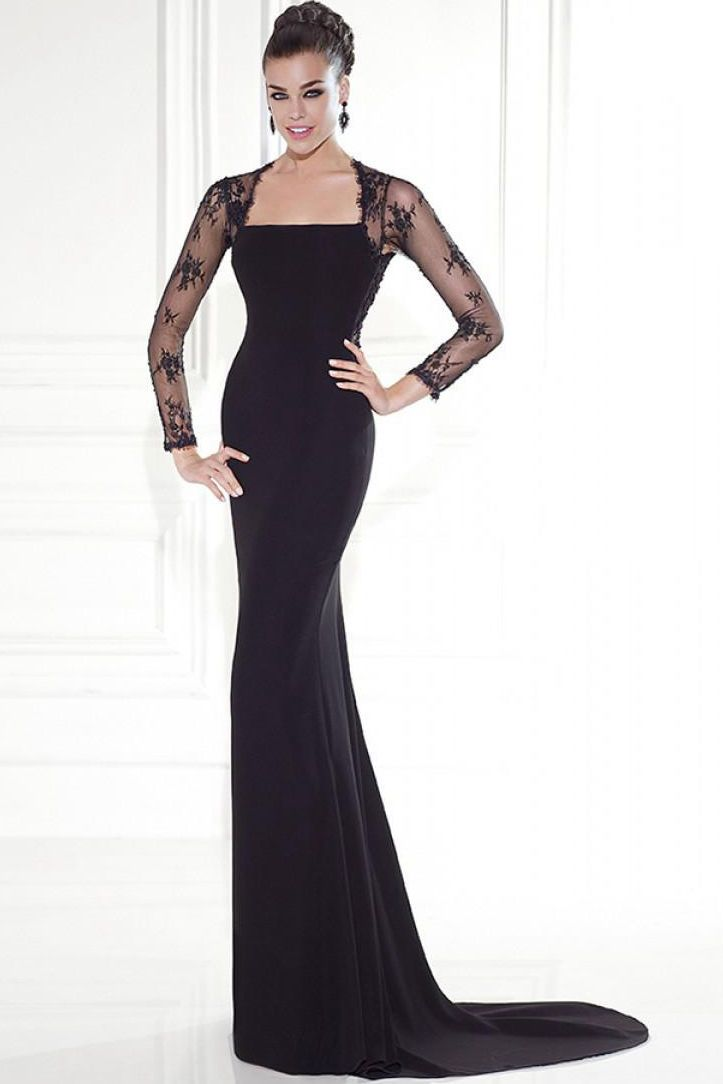 $155.49-Sheath Open Back Evening Gown with Illusion Sleeves. www.ucenterdress..... Shop for affordable evening gowns, prom dresses, white dresses, party dresses for women, little black dresses, long dresses, casual dresses, designer dresses, occasion dresses, formal gowns, cocktail dresses . We have great 2016 Evening Gowns on sale now. #evening #gowns