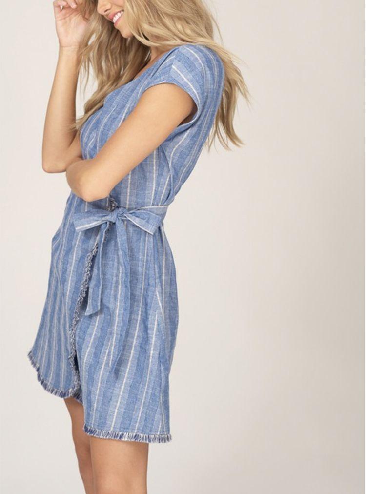 0772fd17849 Linen wrap dress! Shop now! www.bles3ings.com