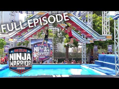 FULL EPISODE: Junior Qualifier 9 | American Ninja Warrior Junior