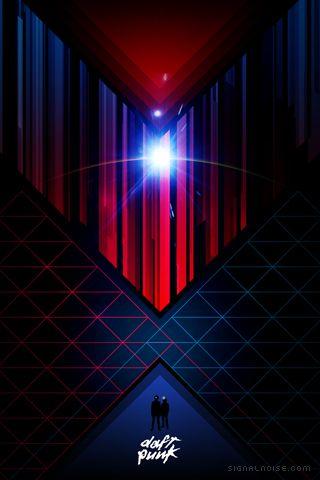 Daft Punk Wallpaper | Iphone wallpaper, Retro futurism ...