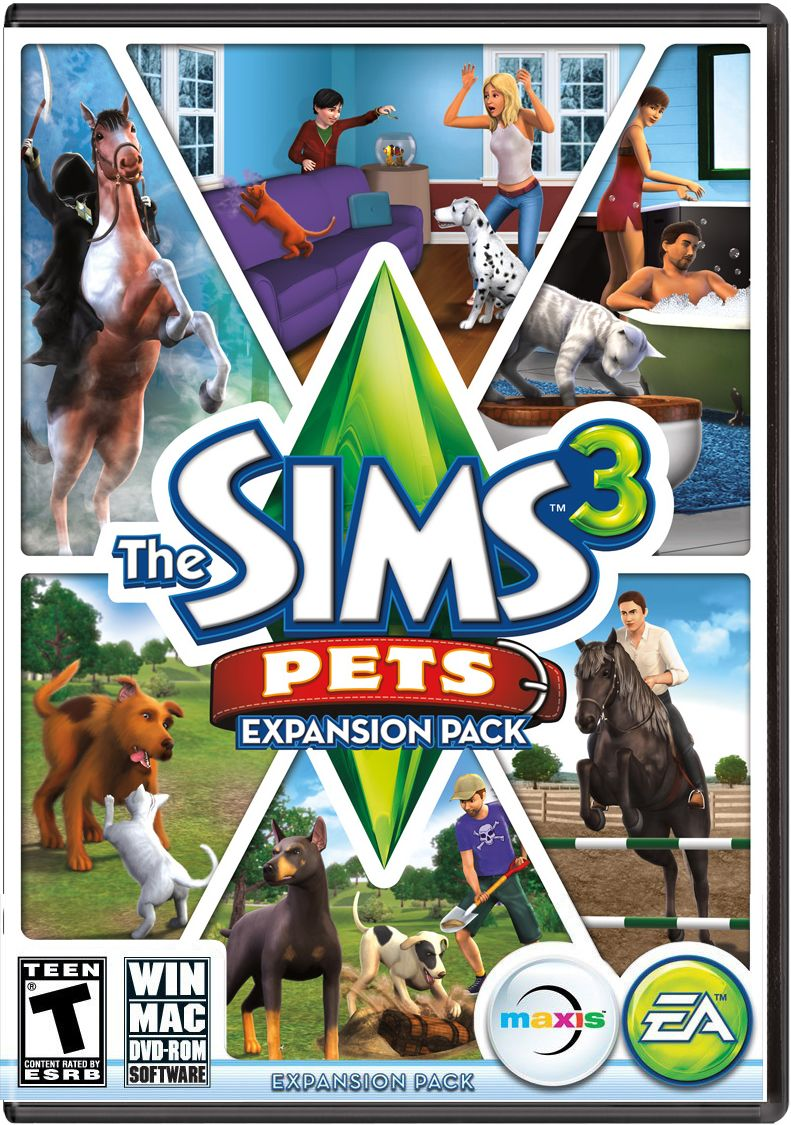 The sims 3: pets (expansion pack) (pc & mac) free download | sims.