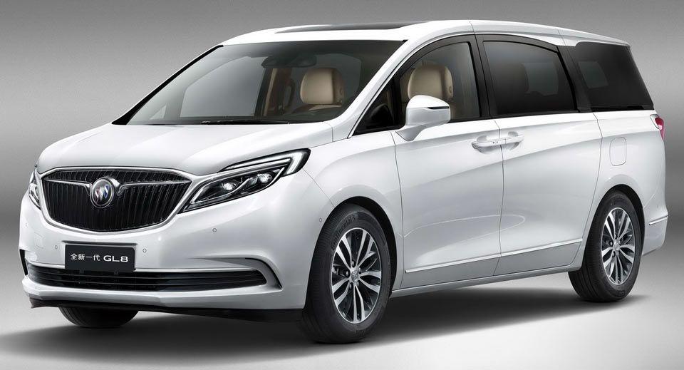 Buick Previews New Gen Gl8 Mpv For China Buick Gl8 Buick Mini Van