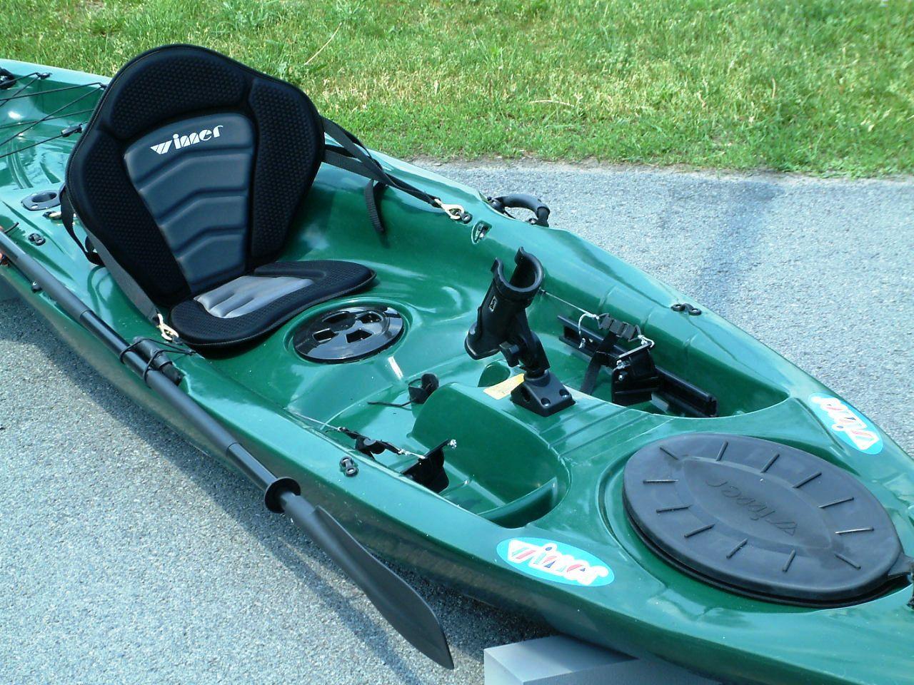 Green Leisure Fishing Kayak check them out at www.kayak