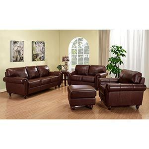 Sofa Selections Clearance Sale on Leather Italia U.S.A Briah ...