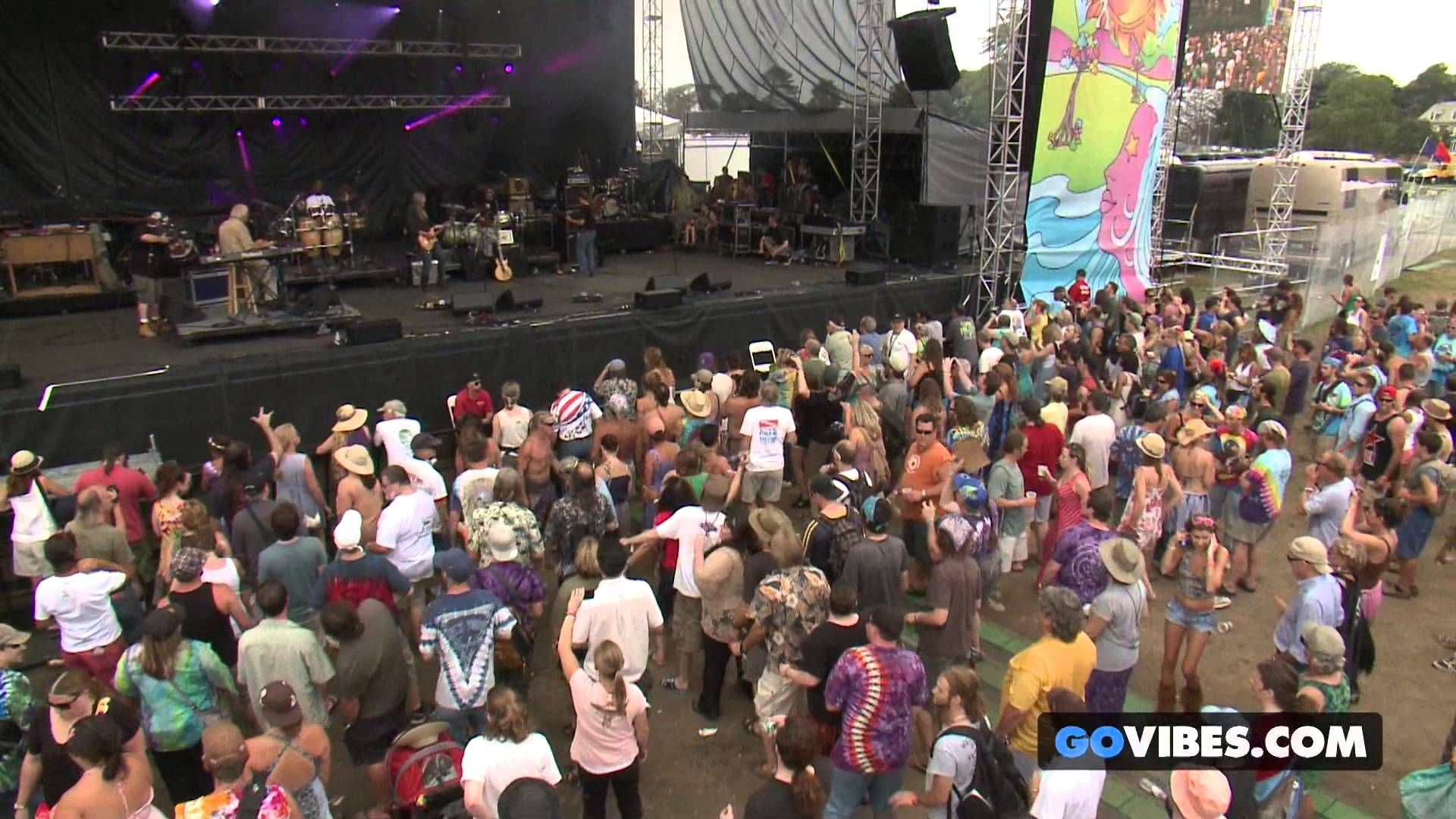 """Max Creek performs """"Just A Rose"""" at Gathering of the Vibes Music Festiva..."""