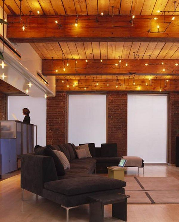 Plumbing Pipe Lights These Light Fixtures From Mesh Architects Score Very High Points Clever Yet Simple Industrial Romantic 20 Cool Basement