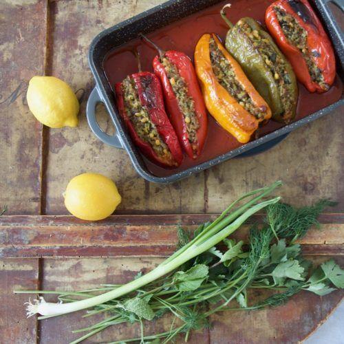 Dolmeh Felfel - Gefüllte Spitzpaprika nach persischer Art - Labsalliebe