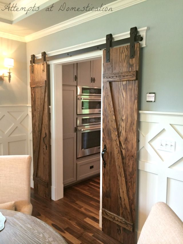 Richmond homearama recap houses 3 4 attempts at for Barn door dining room