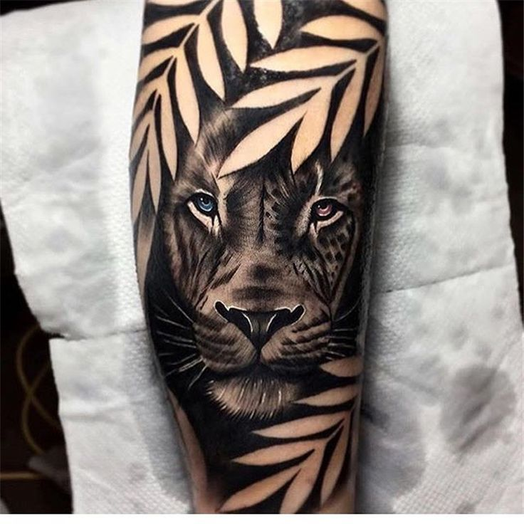 Click for more 53 Cool Animal Tattoo Ideas