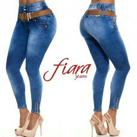 78c56e6aa1 jeans fiara levanta pompa