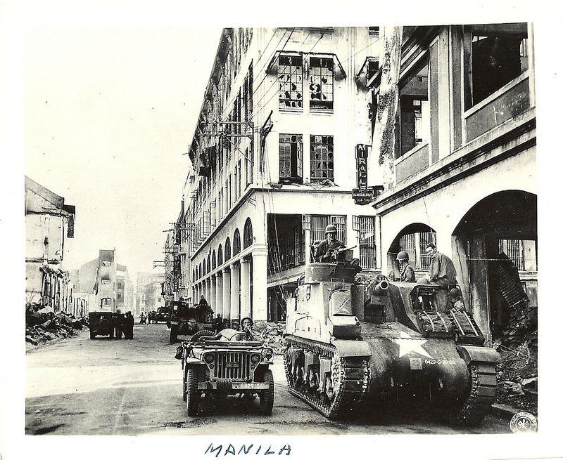 Manila 1945 Filipino Culture Manila Philippines