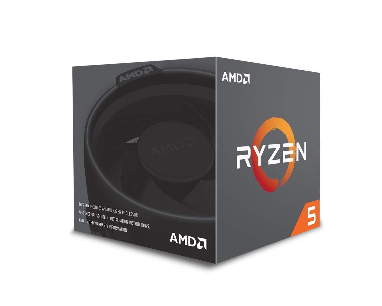 Amd Ryzen 5 2600 Processor With Wraith Stealth Cooler Yd2600bbafbox Computer Processors Processor Amd