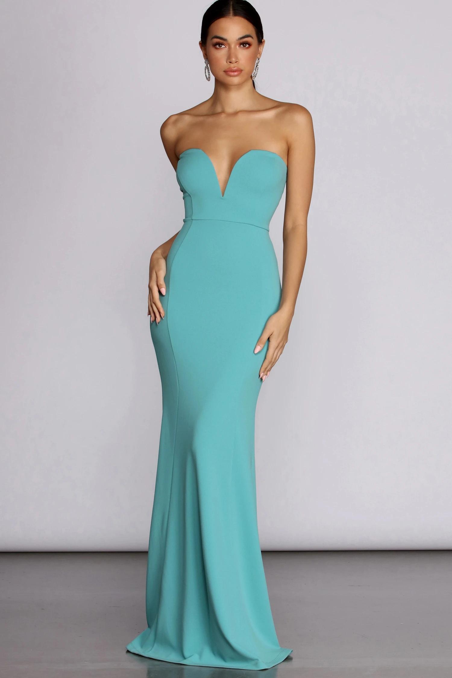 Dana Light Blue Strapless Formal Dress Formal Dress Shops Strapless Dress Formal Dresses [ 2247 x 1500 Pixel ]