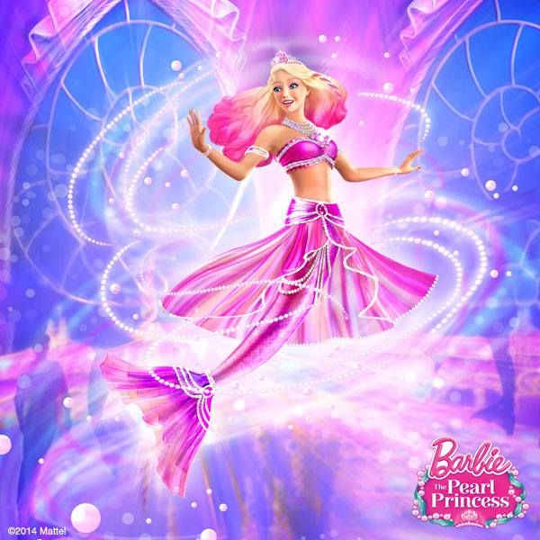 Barbie The Pearl Princess Mermaid With Images Barbie Cartoon