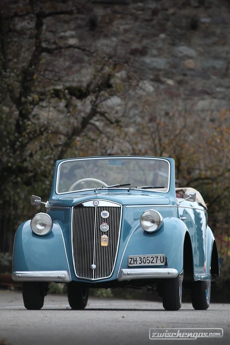Lancia Ardea Cabriolet (1945) - hochaufgeschlossen im Stil der Zeit ...