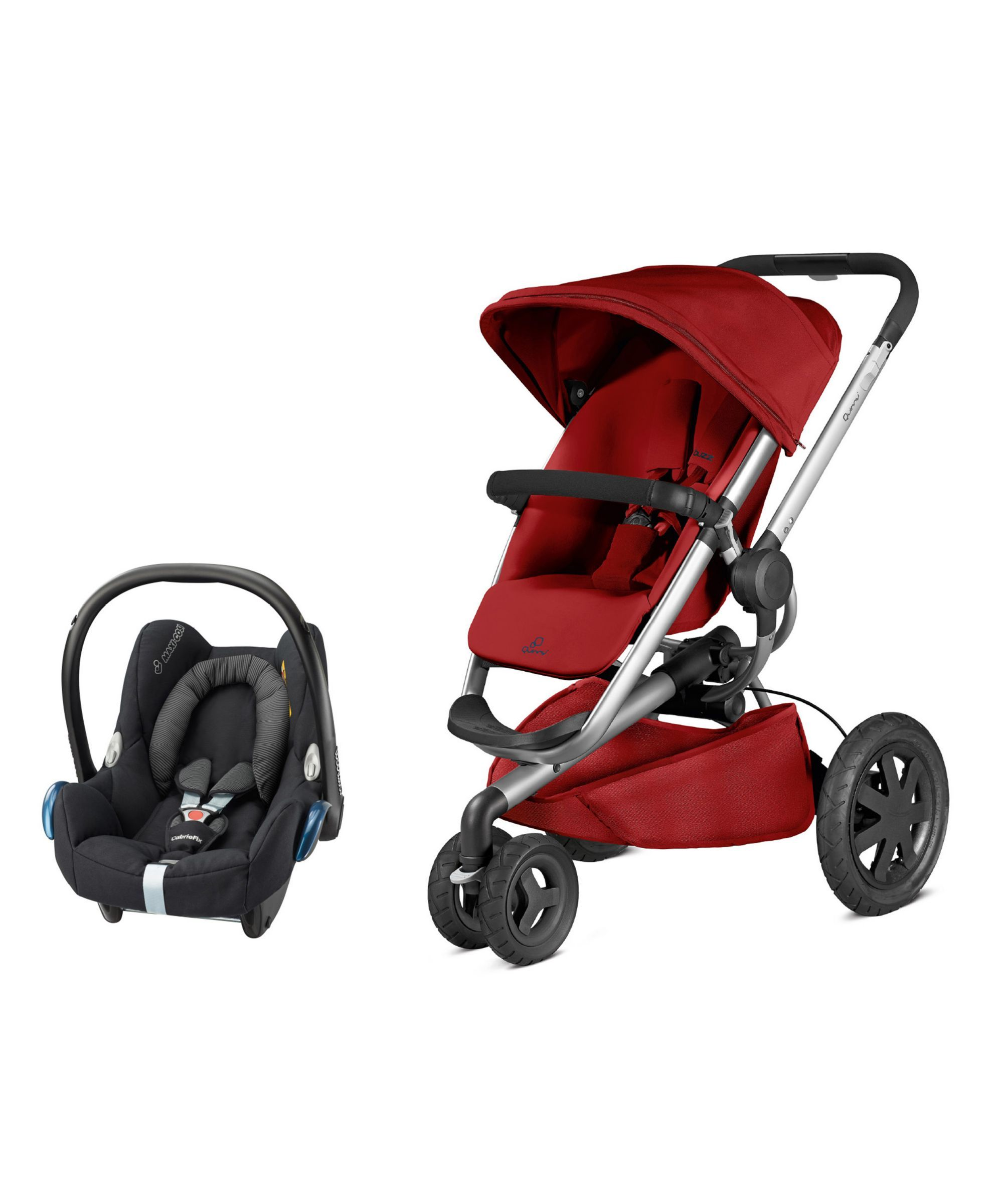 Quinny Buzz Xtra and Maxi Cosi Cabriofix Travel System