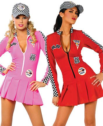 Smart Sexy Car Racing Costume Women Long Sleeve Sexy Racing Girl Uniform Adult Car Model Cosplay Women Cheerleaders Dress Women's Costumes
