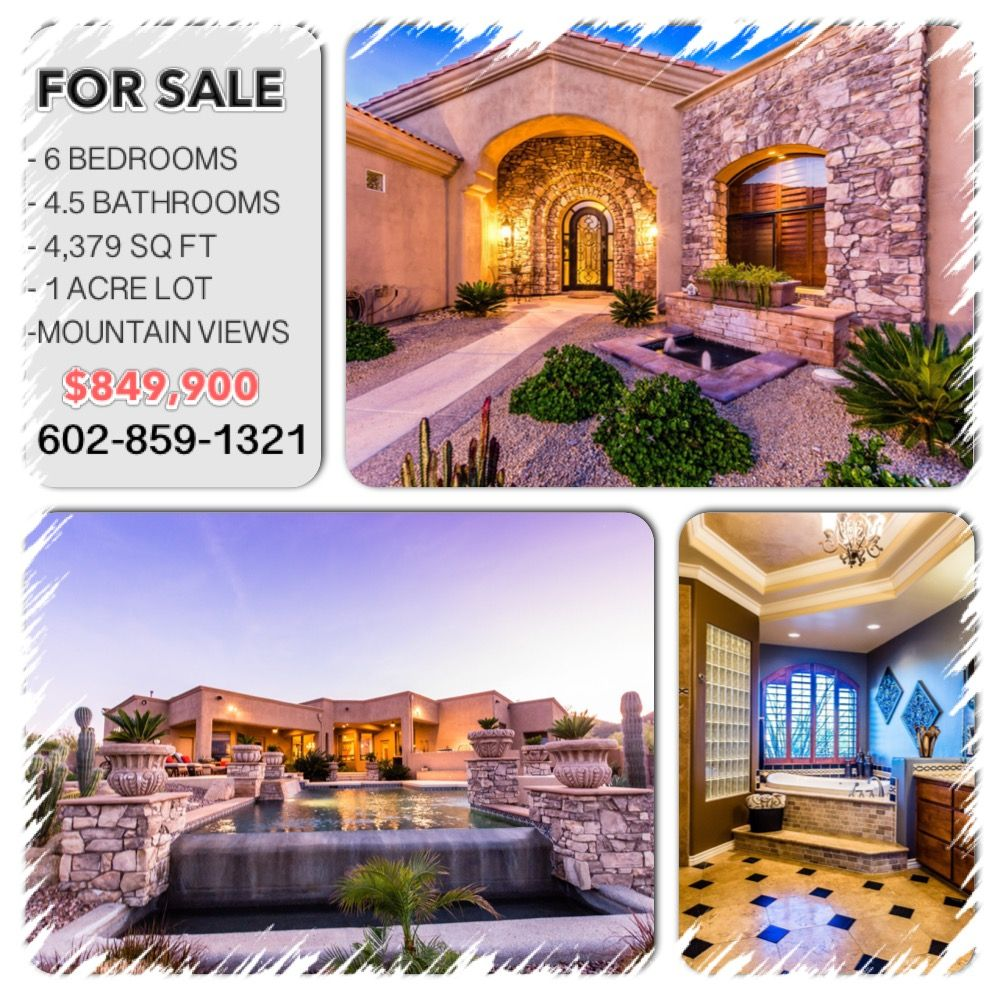 Home for sale 1414 W LEISURE CT Phoenix, AZ 85086 (With