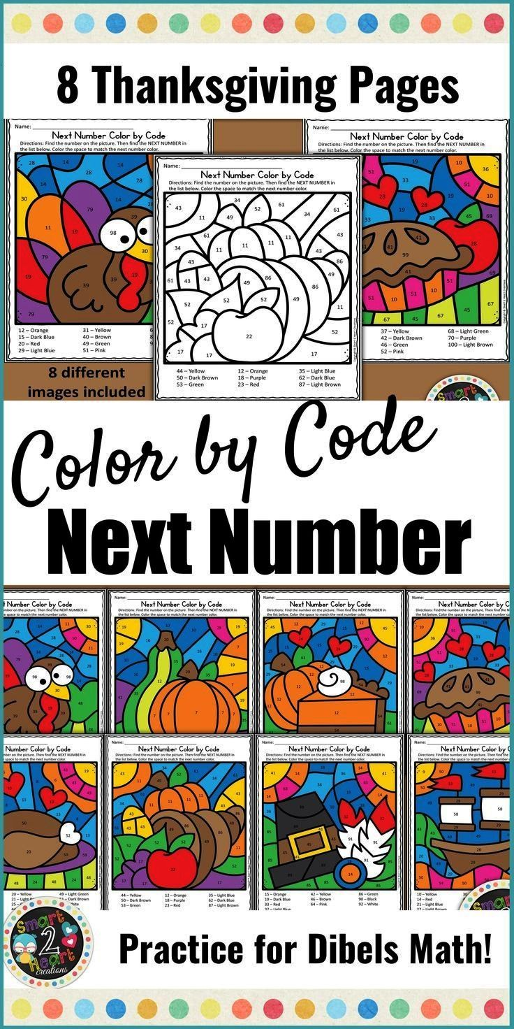 Number Fluency Practice - Thanksgiving Need to build Next Number Fluency? These 8 Thanksgiving them