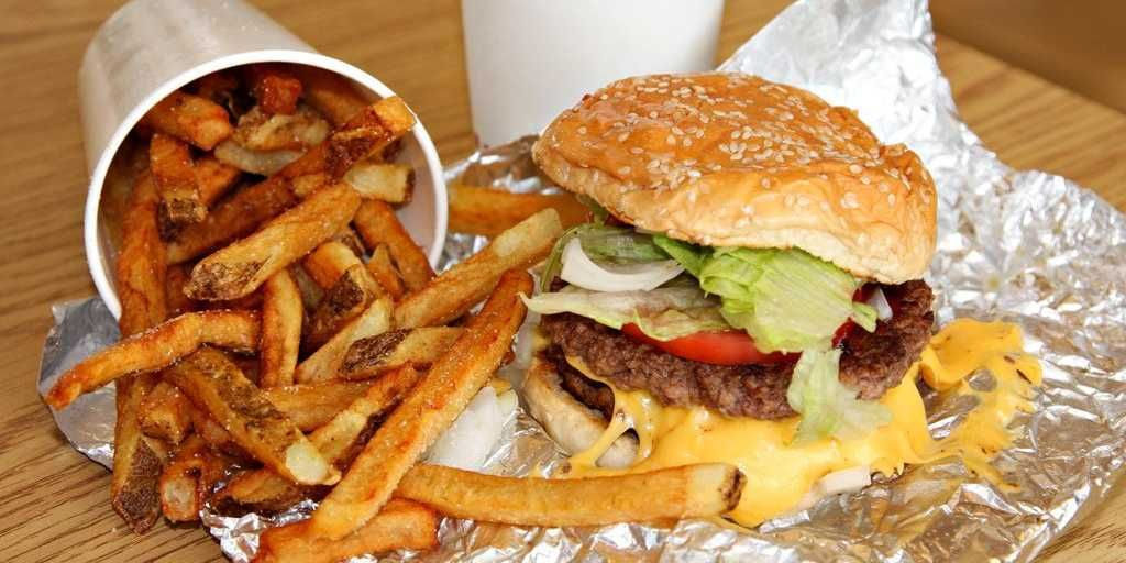 The Best Fast Food In America Burger And Fries Best Fast Food