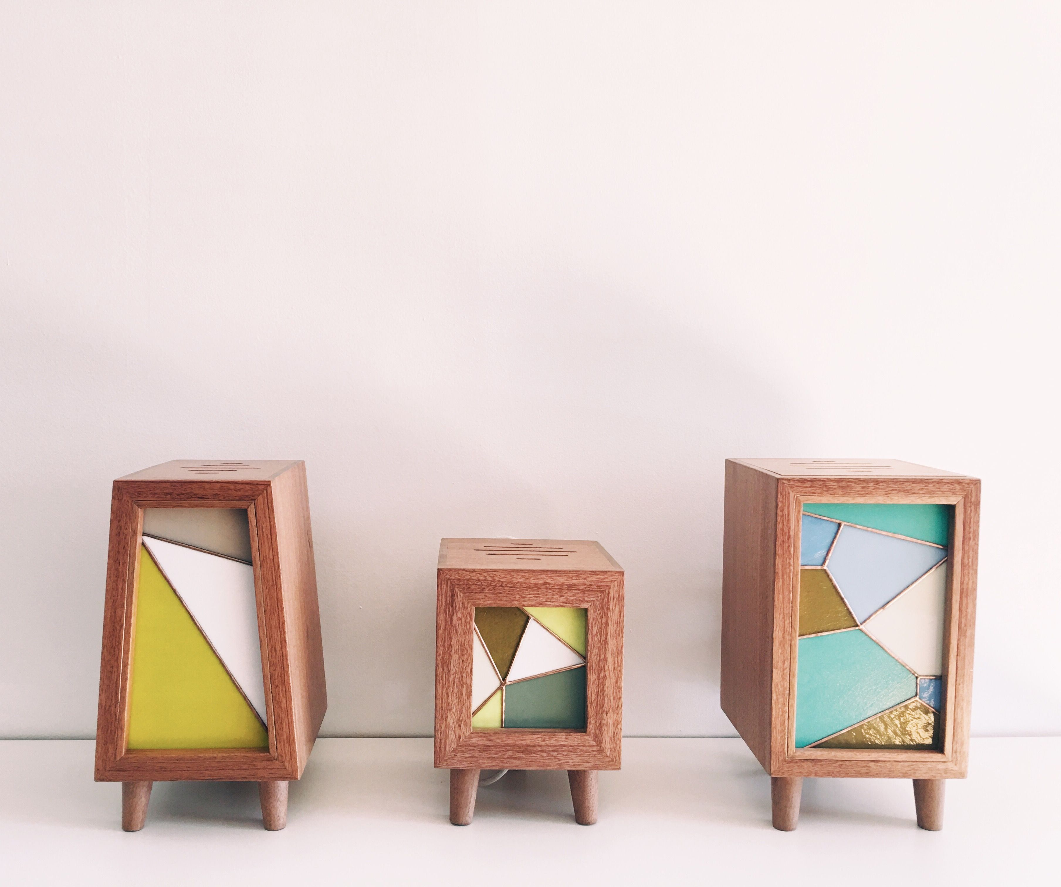 Our New Modernist Stained Glass Lamps Available Exclusively At Regeneration  Furniture In NYC #modern #