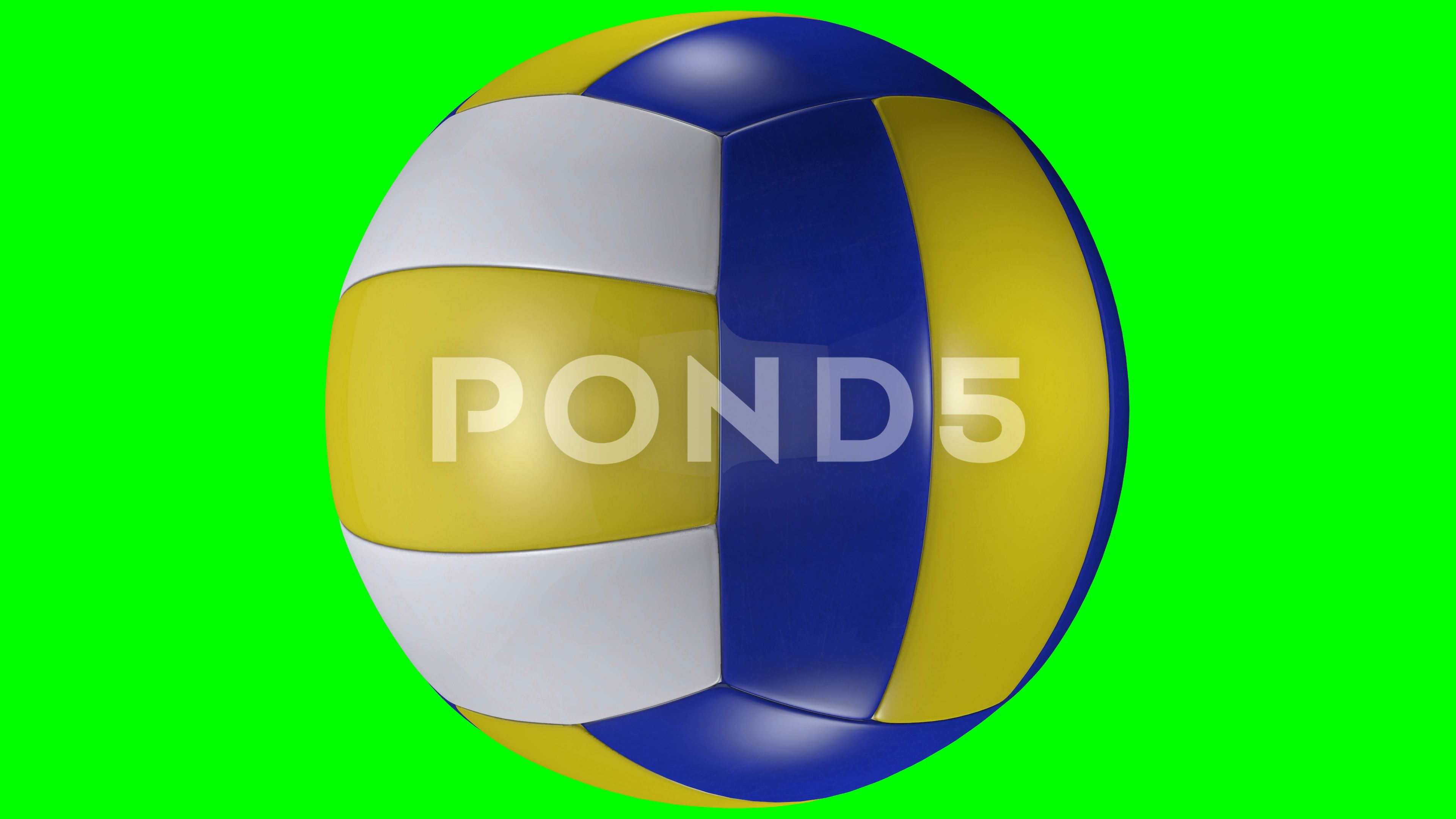 3d Animation Volleyball Ball Rotating On Green Screen Chroma Key Background Stock Footage Ad Rotating Green Chroma Key Backgrounds Greenscreen Chroma Key