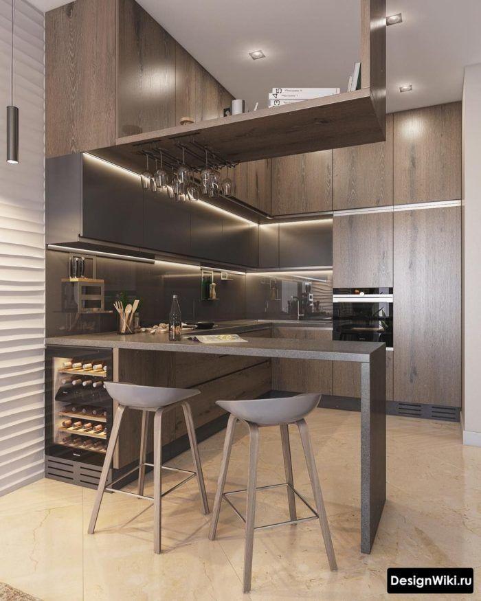 Кухня в стиле Лофт: 103 фото и 7 нюансов для обычн