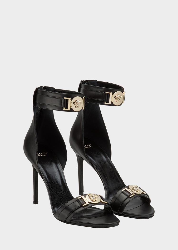 80cc3b534dd Versace MEDUSA HIGH HEEL SANDALS for Women