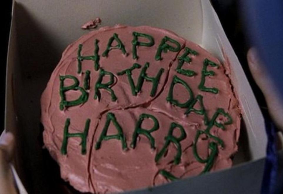 Happy Birthday Harry Potter Harry Potter Birthday Cake Harry Potter Cake Happy Birthday Harry Potter