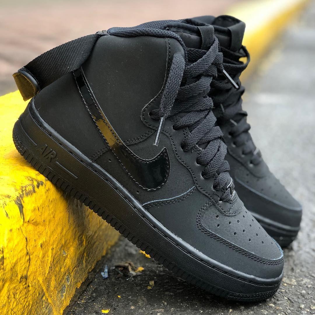 Nike Air Force 1 High giallo