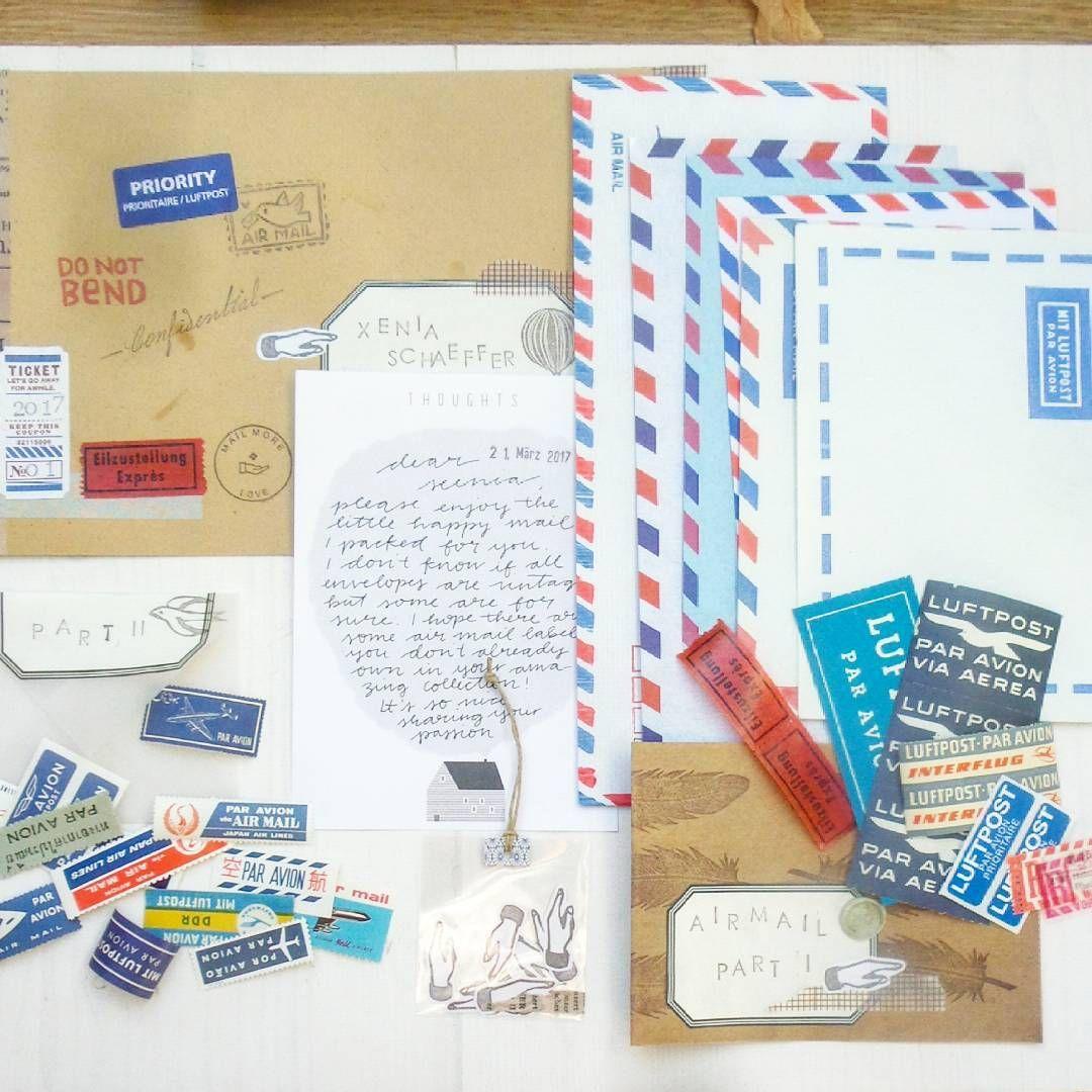 Yoojin At Paperpilea Auf Instagram Briefe Snail Mail Happy Mail