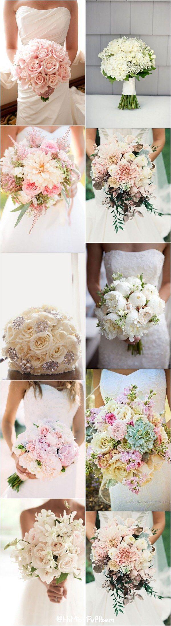 Romantic Spring u Summer Wedding Bouquets Summer wedding