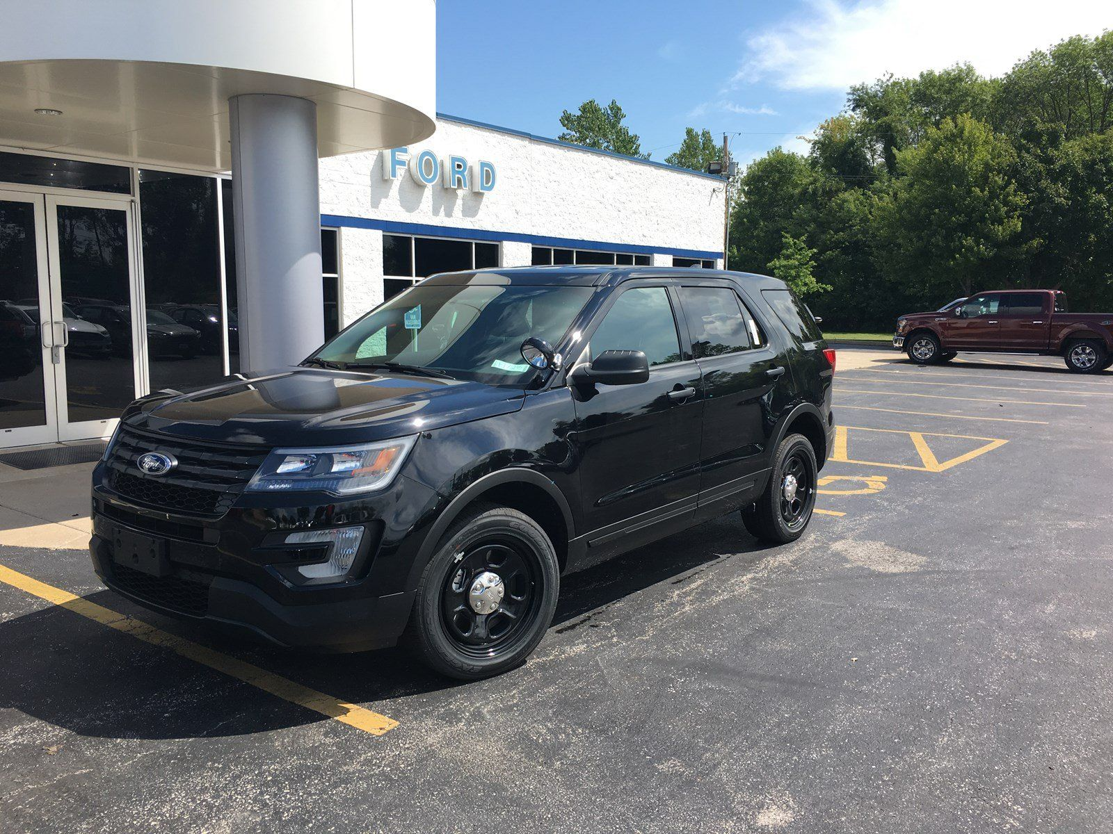 New 2017 Ford Explorer 4wd Police Interceptor Sport Utility For