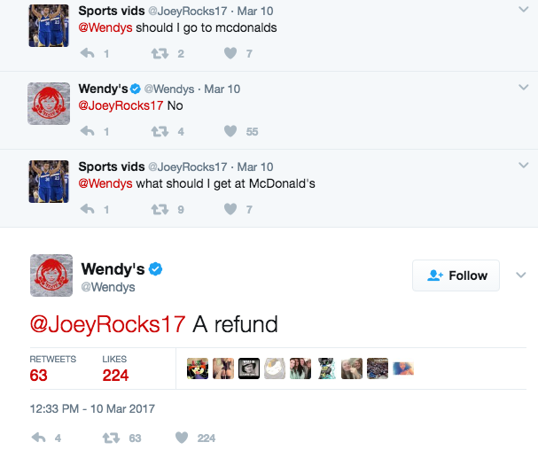 Image Result For Sassy Wendys Tweets Quality Tweets Pinterest - 24 hilarious comebacks wendys twitter account