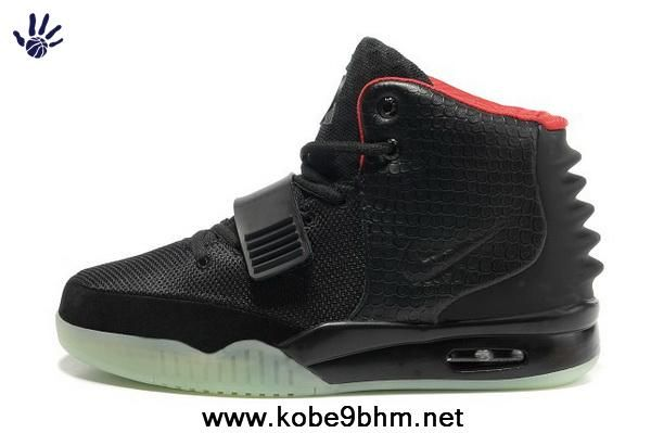 1e6d1b19c Low Price Men Shoes Black Red Nike Air Yeezy II On Sale