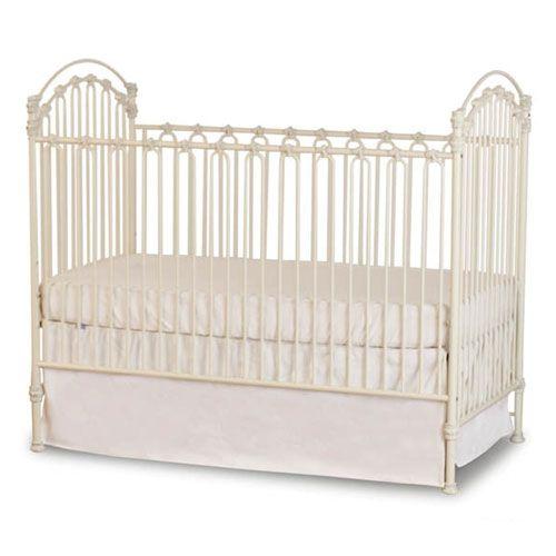 Venetian Iron Crib In Distressed White Iron Crib Cribs