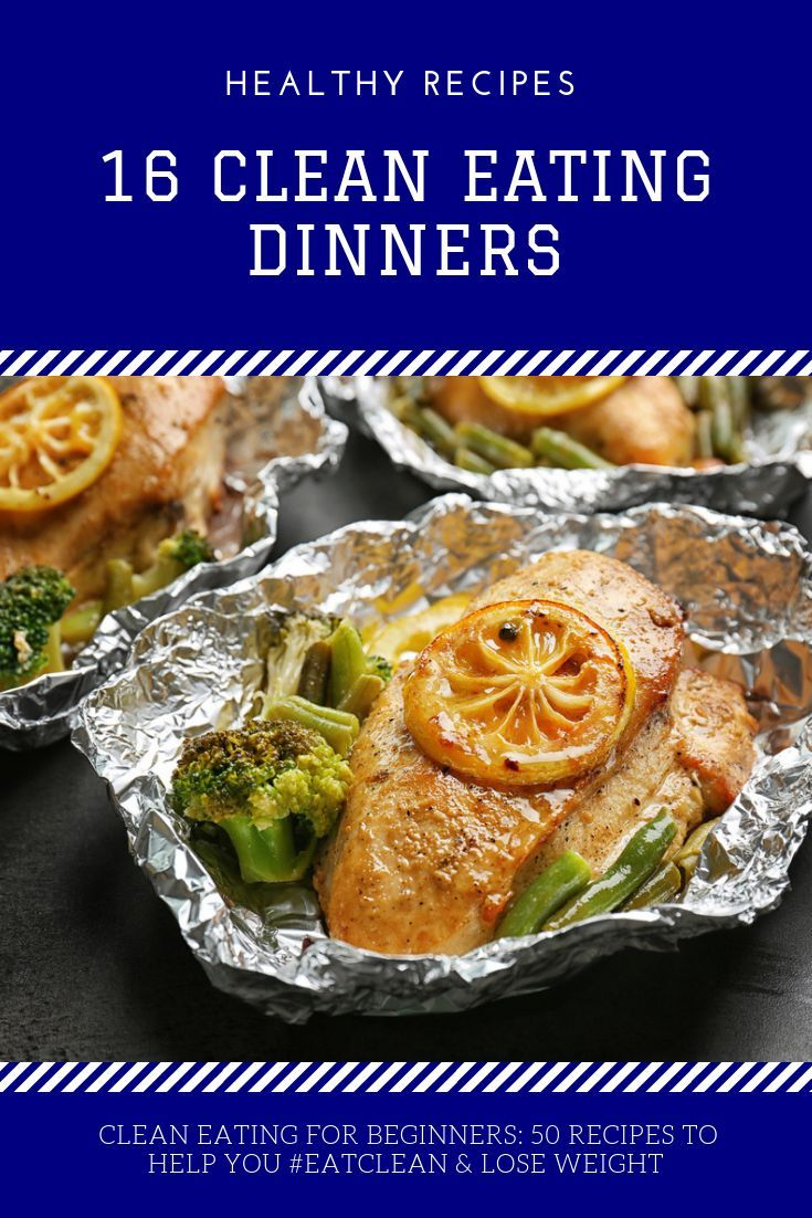 Clean Eating Recipes for Weight Loss! 50 Healthy Recipes for Every Meal of the Day #cleaneatingforbeginners